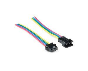 4-pin JST SM Han-Hun kabel sæt