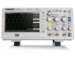Oscilloskop 50MHz 2-kanal Siglent SDS1052DL+