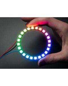 NeoPixel Ring - 24 x 5050 RGB LED med Driver