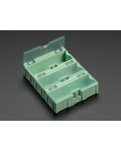 Små Modul Bokse - SMD Komponent Opbevaring - 3 styk - Grøn