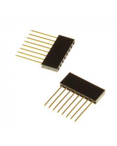 Pinrække med 6 pins - 14,5mm