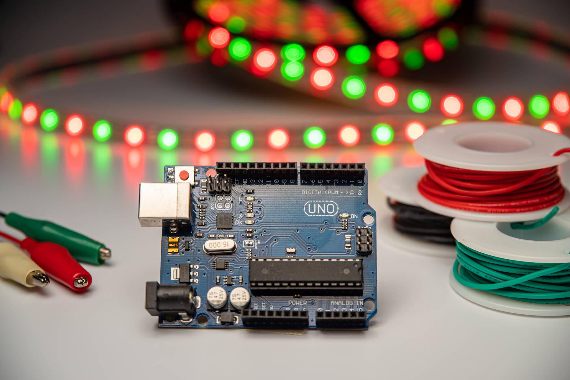Opgrader julelyset med digitale LED Pixels og WLED